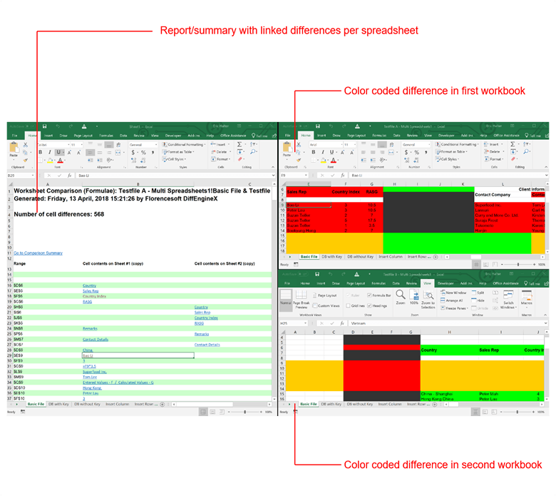 DiffEngineX - Compare & Merge Excel Files